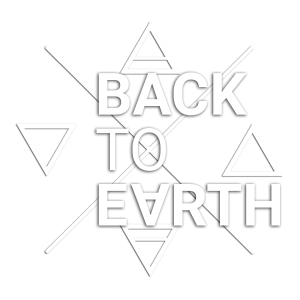 Back to Earth Logo elements-SQ2-WT